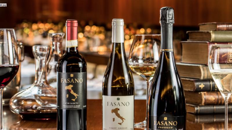 Vinhos Fasano. Foto: Leo Feltran