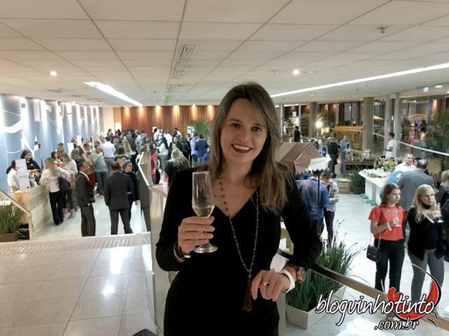 Este ano, os estandes das vinícolas foram distribuídas em uma área de 1200 m2