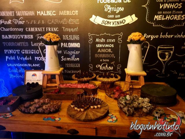 Parceria Ticiana Werner e Cacau Gourmet deixou o evento ainda mais especial