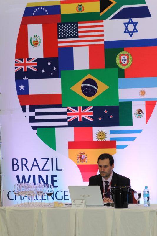 Presidente da ABE, Edegar Scortegagna, organizador do IX Brazil Wine Challenge