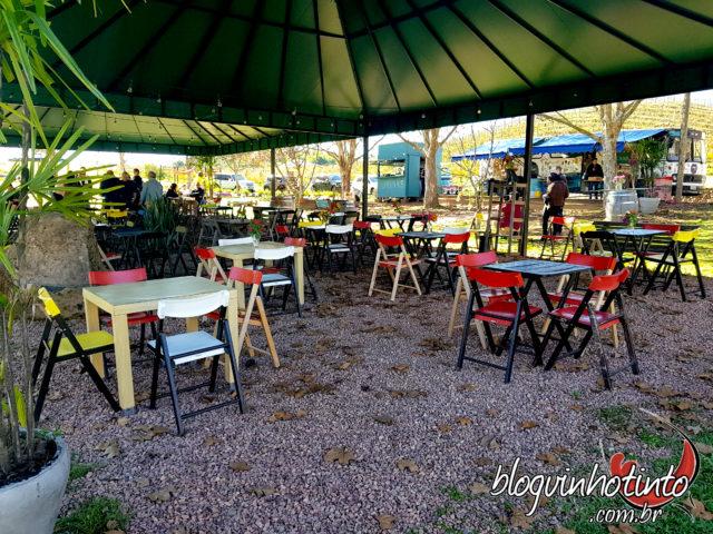 Wine Garden da Miolo - um wine bar a céu aberto