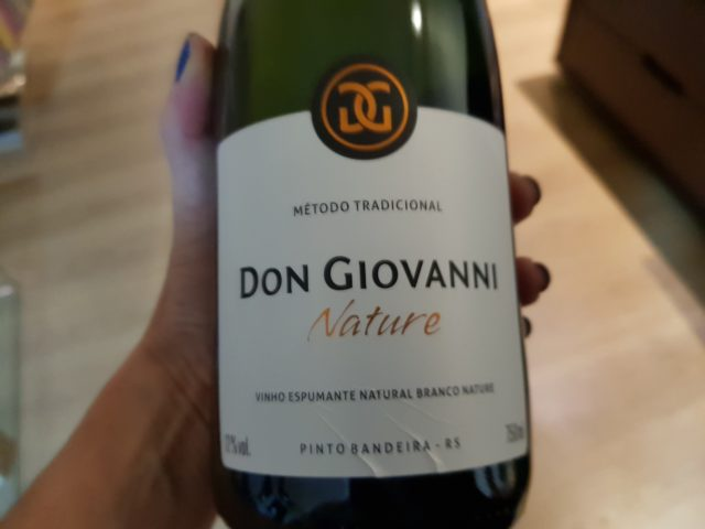 Espumante Don Giovanni Natrure: complexidade, refrescância e cremosidade marcantes