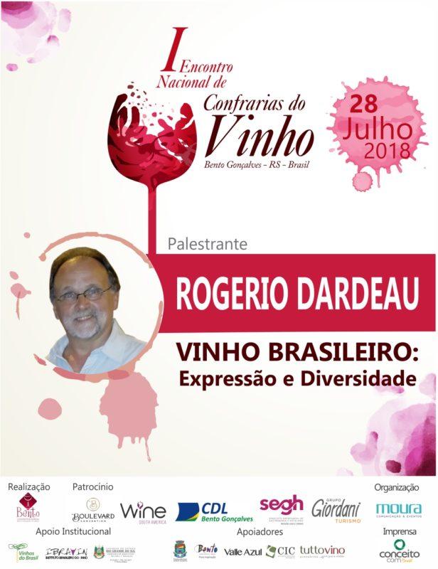 I Encontro Nacional de Confrarias do Vinho recebe Rogerio Dardeau