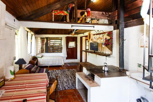 Cabana: rústica e aconchegante. Foto: Don Giovanni Site