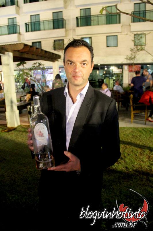 Guillaume Borrot, enólogo e Diretor Técnico da vinícola Damaine Mas