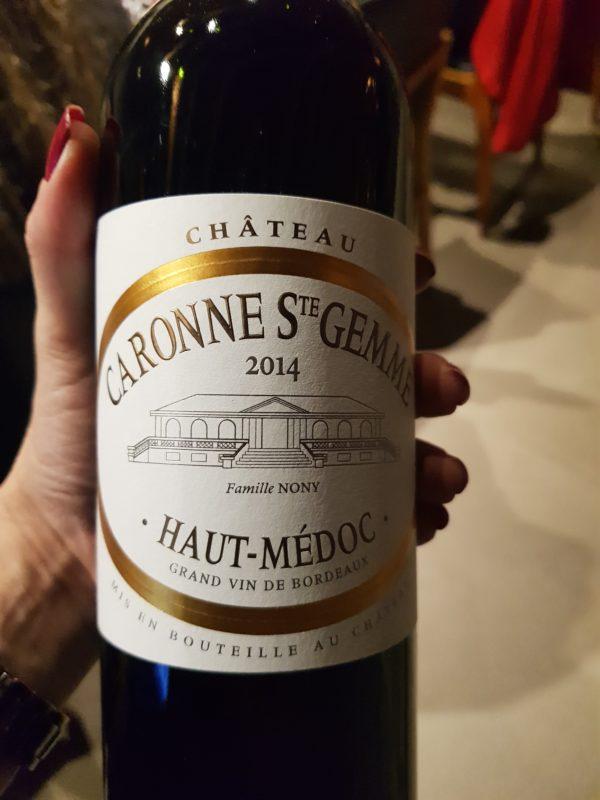 Château Caronne Ste Gemme: vinhedos localizados em um solo mais quente