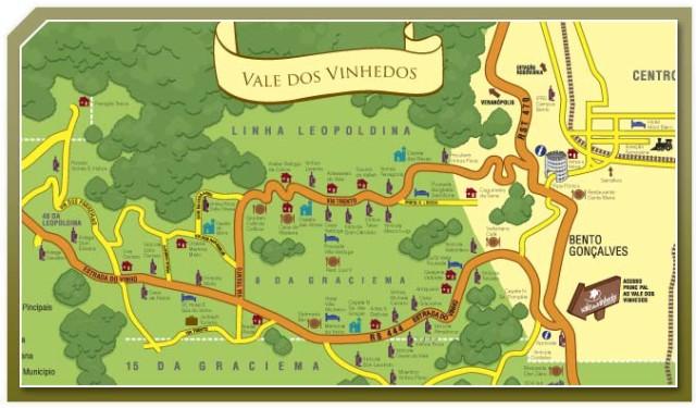 Vale dos Vinhedos é a primeira e única região do país com Denominação de Origem (DO) de vinhos