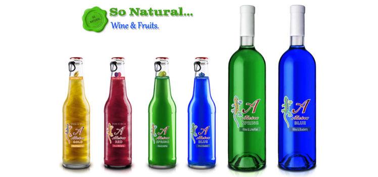 Coquetel de vinho produzida pela Aleixo