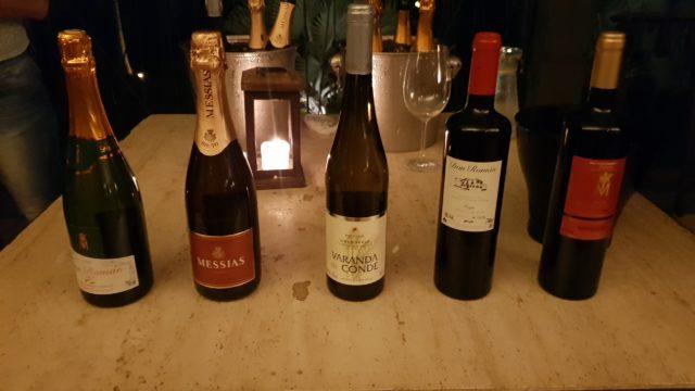 Alguns dos vinhos da Porto a Porto que foram servidos no Avant-Premiére e que estarão disponíveis no Wine Friday 2018.