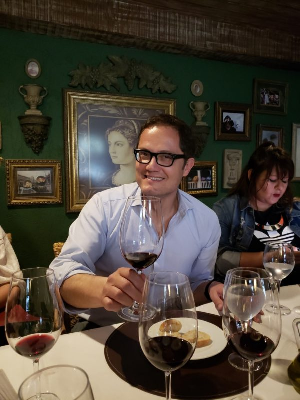 Antonio Morescalchi: co-proprietário da Alto Las Hormigas vem ao Brasil lançar o Tinto, primeiro blend da vinícola