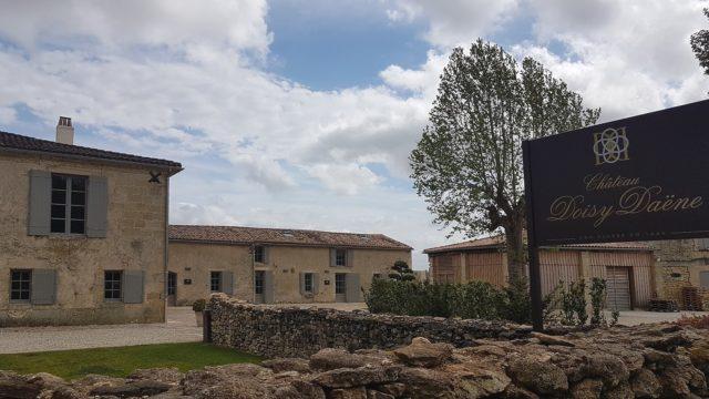 Entrada do Château Doisy Daëne
