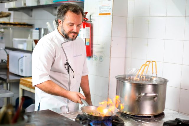 Chef Renato Carioni do Così Restaurante