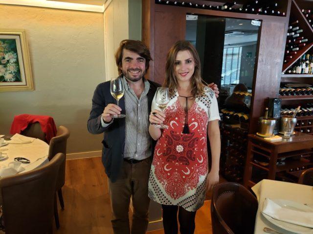 Jean-Jacques Dubourdieu e Bianca Dumas (Blog Vinho Tinto e Instagram Vinho Bonzão)