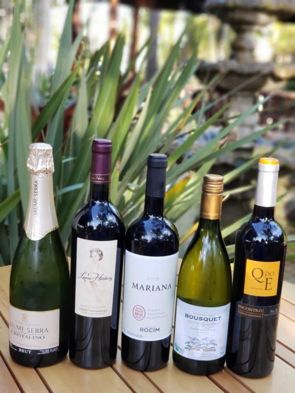 Vinhos da Rota do Vinho no Manzuá