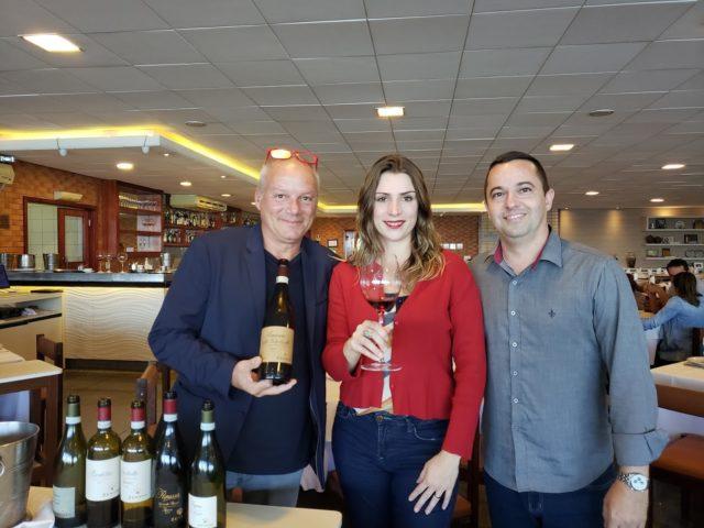 Vittorio Marianecci (Zenato), Bianca Dumas (Blog Vinho Tinto), Phillipe Germa (World Wine)