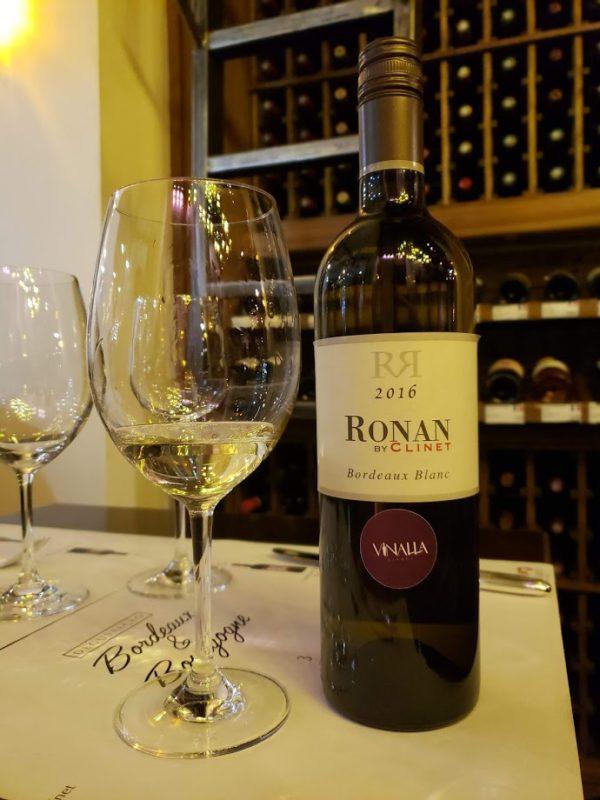 Bordeaux Blanc Ronan by Clinet 2016 Vinalla Vinhos