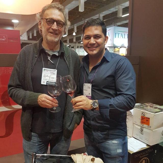 Jorge Lucki e Sommelier Bernardo