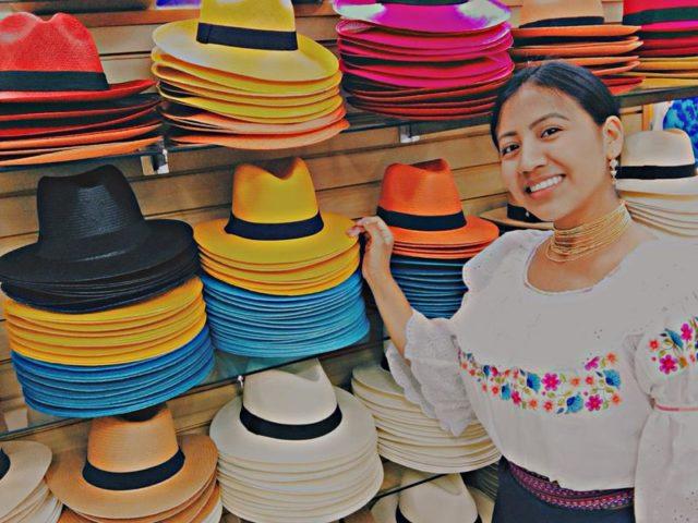 Além das delícias gastronômicas, o evento também trará muitas outras novidades interessantes como os chapéus equatorianos
