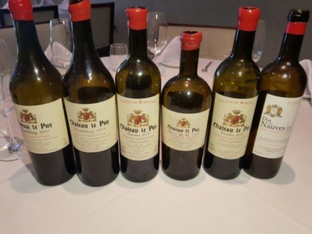 Vinhos da Chatêau Le Puy, de Bourdeaux (FOTO: Reprodução)
