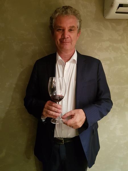 Michel Friou - enólogo do Almaviva desde 2007