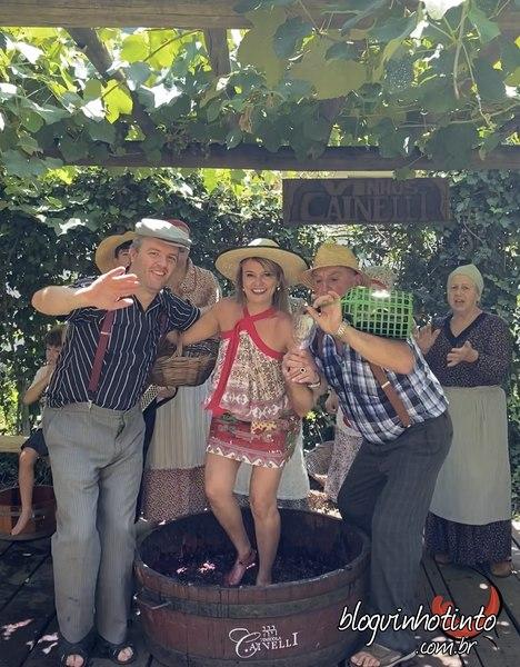 Pisa das uvas: momento de descontração e terapia!!!!