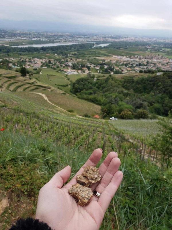 Vista do Vale do Rhône