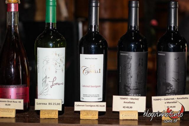 Depois da vindima, pausa para conhecer os vinhos da Cainelli