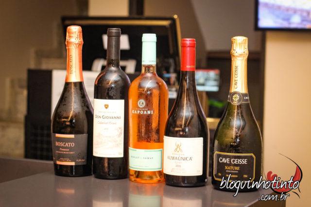 Carta de Vinhos do Na Vila privilegia vinhos nacionais