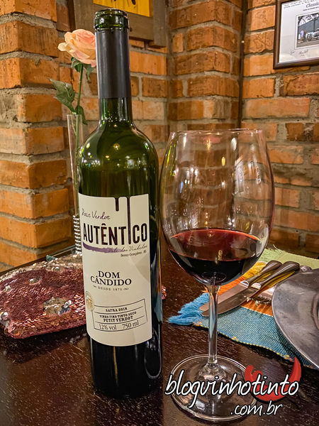 Autêntico da Dom Cândido - vinho simples e fácil de beber