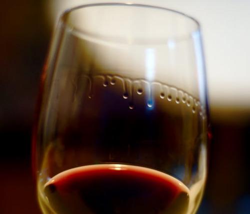 lágrimas do vinho