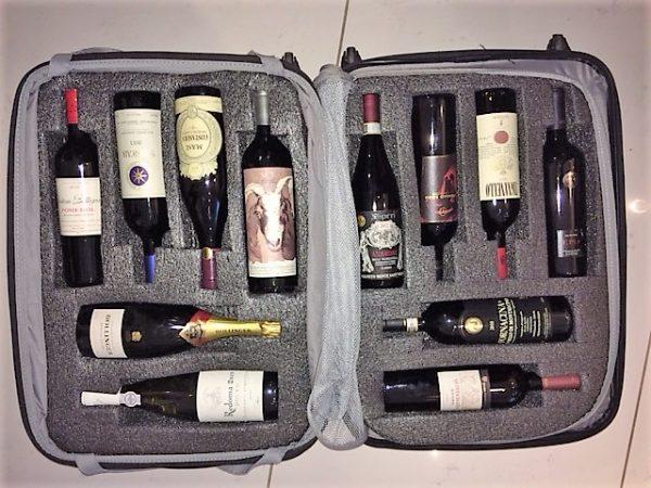 regras para trazer vinhos do exterior