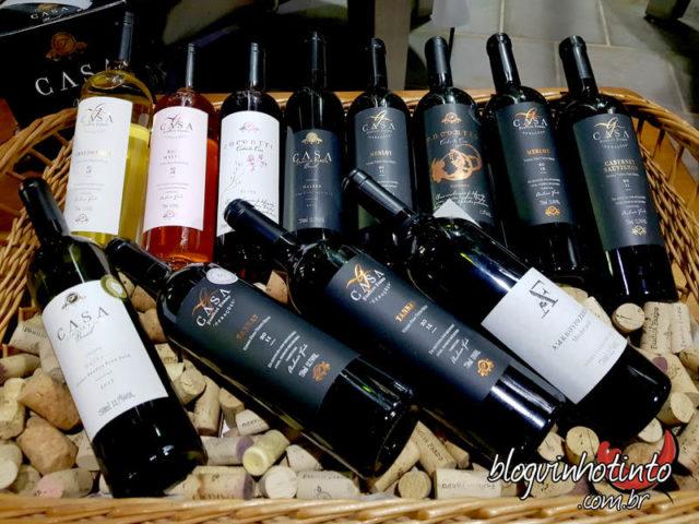 A vinícola produz apenas vinhos finos