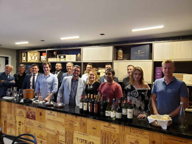 Degustação em Brasília do Projeto Wine Chef