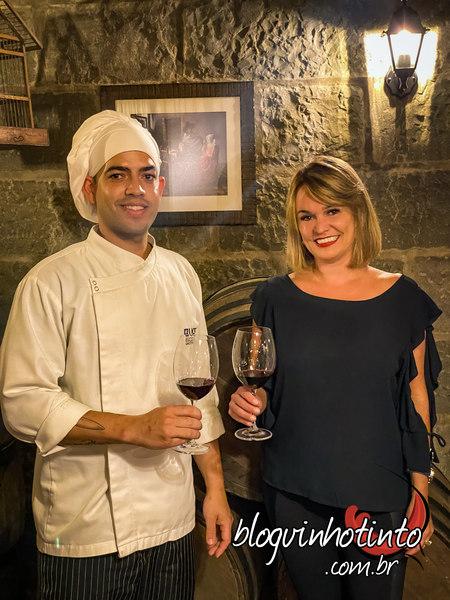 Eu e o Chef Damiano