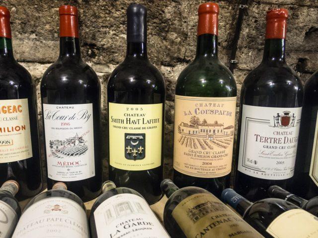 Vinhos de Bordeaux - A grande maioria é vinho de corte