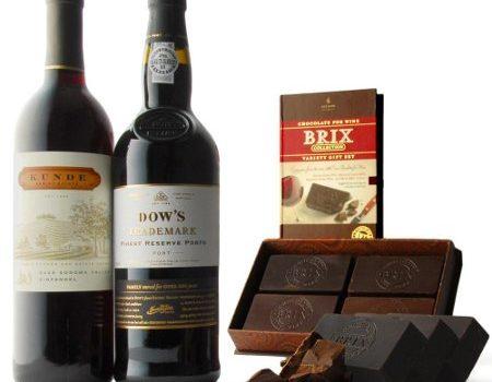 Vinho e chocolate: delícia