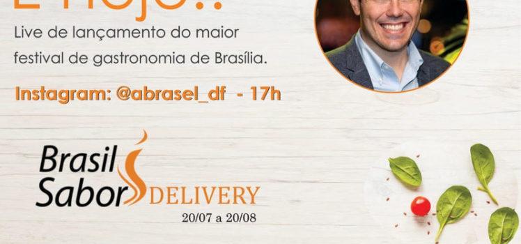 Live sobre Brasil Sabor Delivery