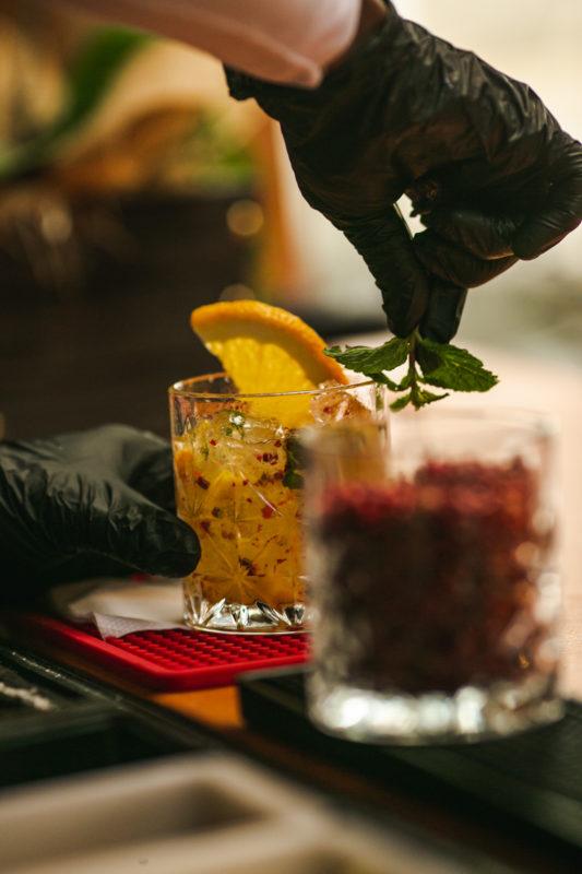 gin tônica da casa