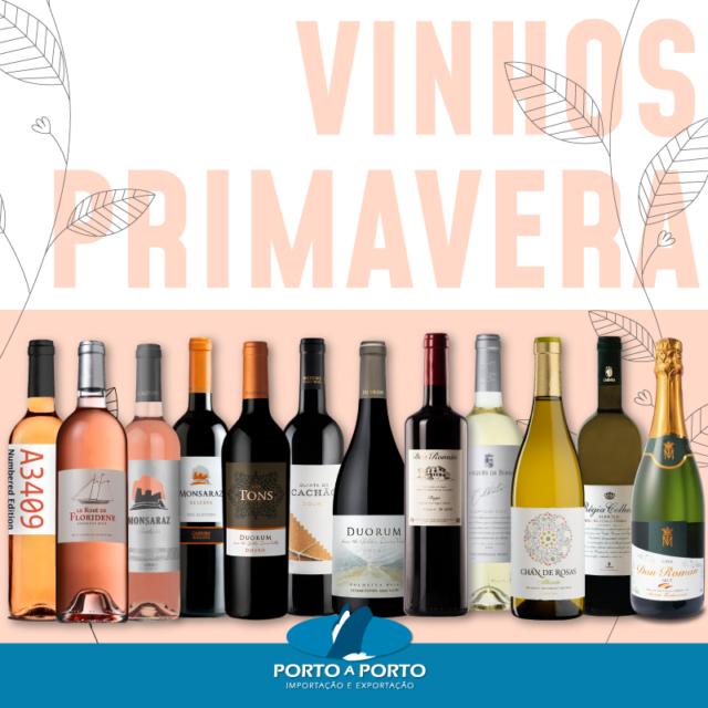12 vinhos selecionados para primavera