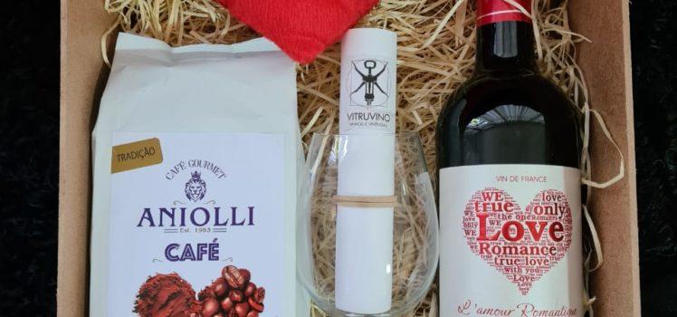 Box coffee, love and Wine