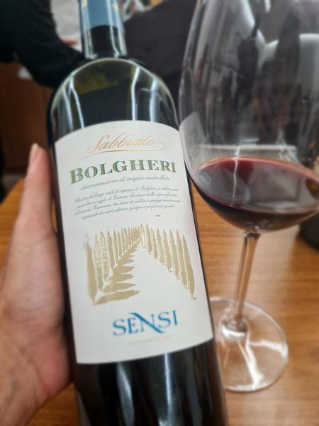 Bolgheri Sabbiato - agora no portfolio Del Maipo