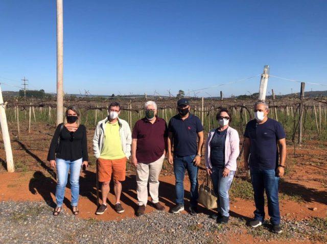 Diretores da ABS-DF e organizadores da I Feira da Uva e do Vinho do DF_Easy-Resize.com
